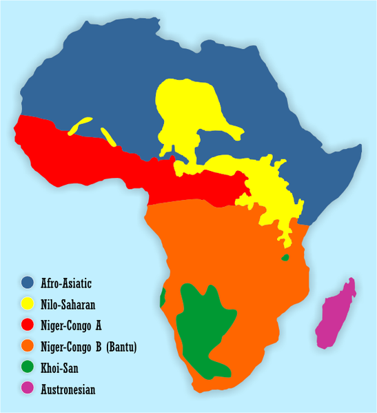 African language map