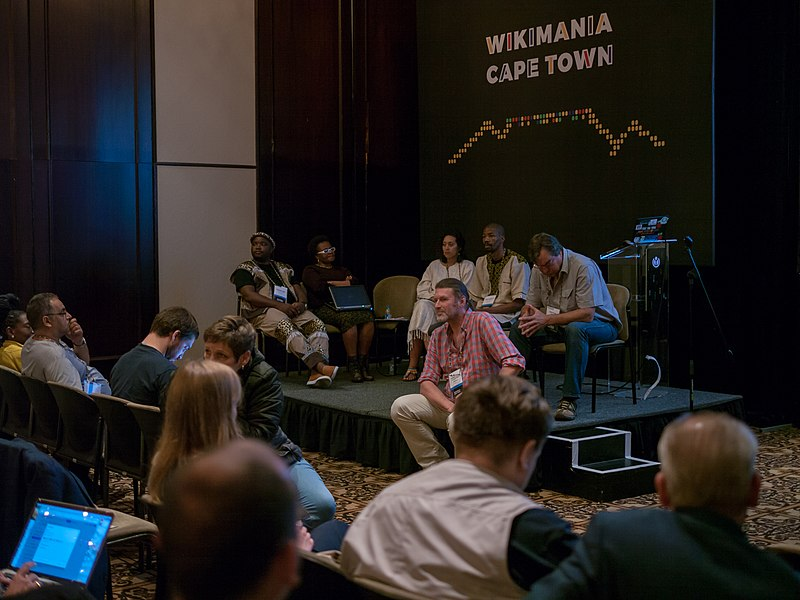 Wikimania session