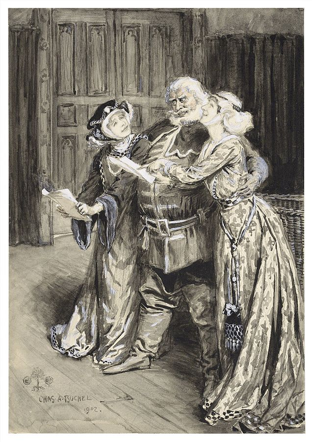Falstaff and the Wives
